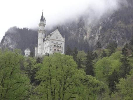 Münih-Almanya-Bavyera-Kale-Neuschwanstein Kalesi