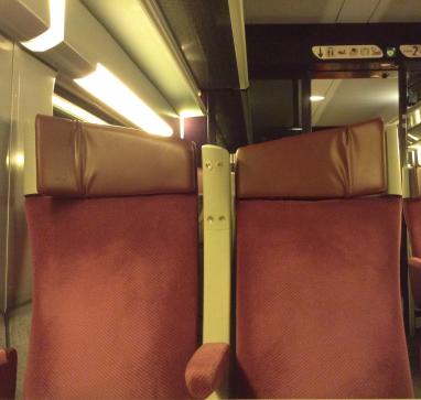 Sonunda binebildiğim hızlı tren