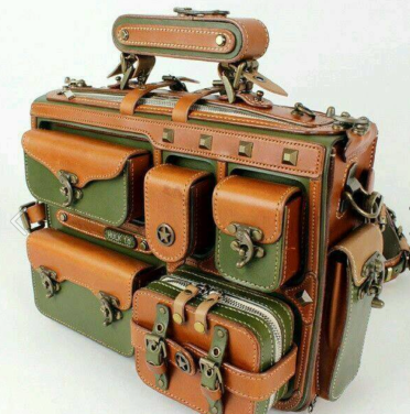 steampunk-fashion-leather-bag